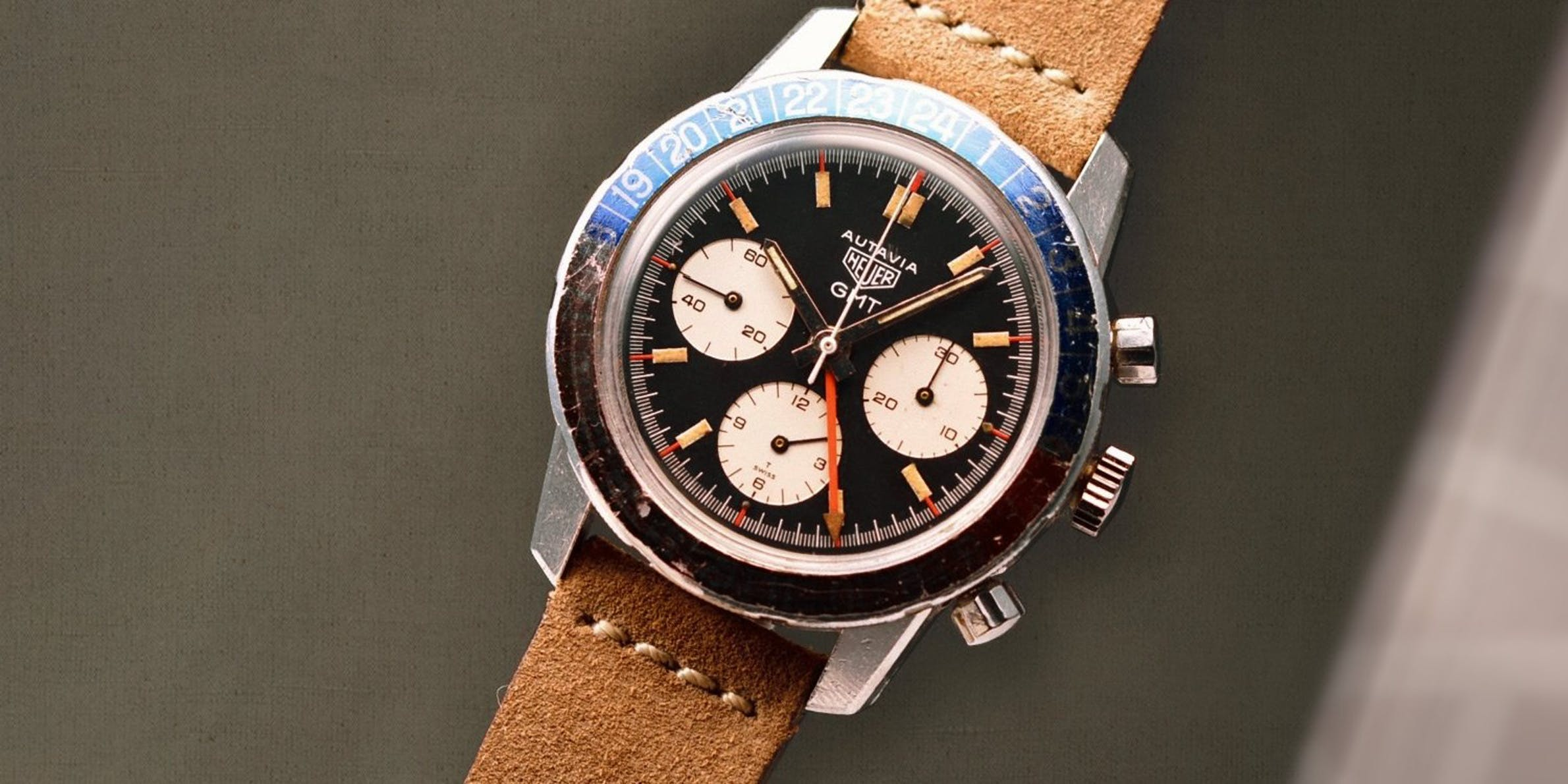 Non-Rolex Watches With Steady Value: Heuer Autavia 2446C GMT