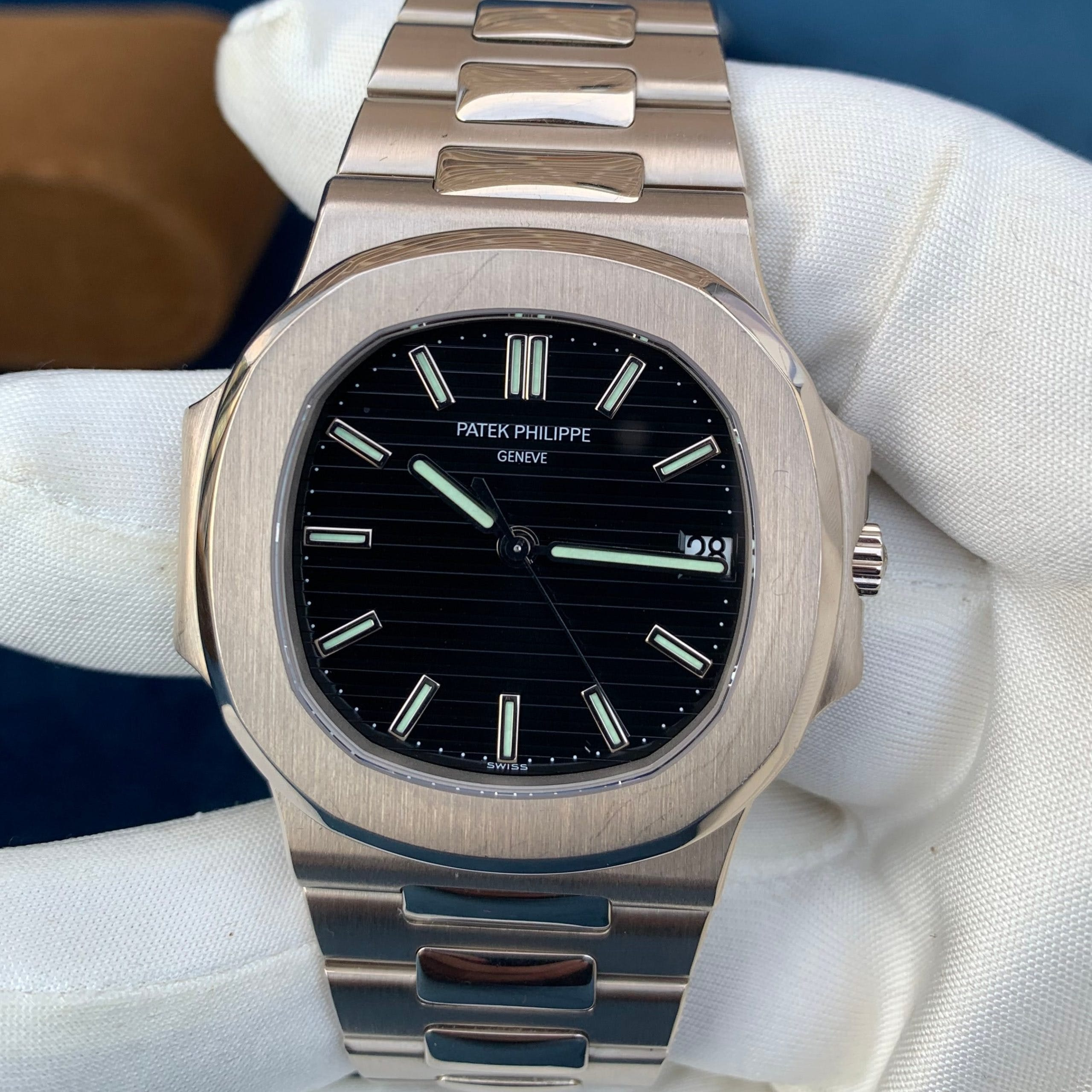 The first Patek Philippe Nautilus 3711