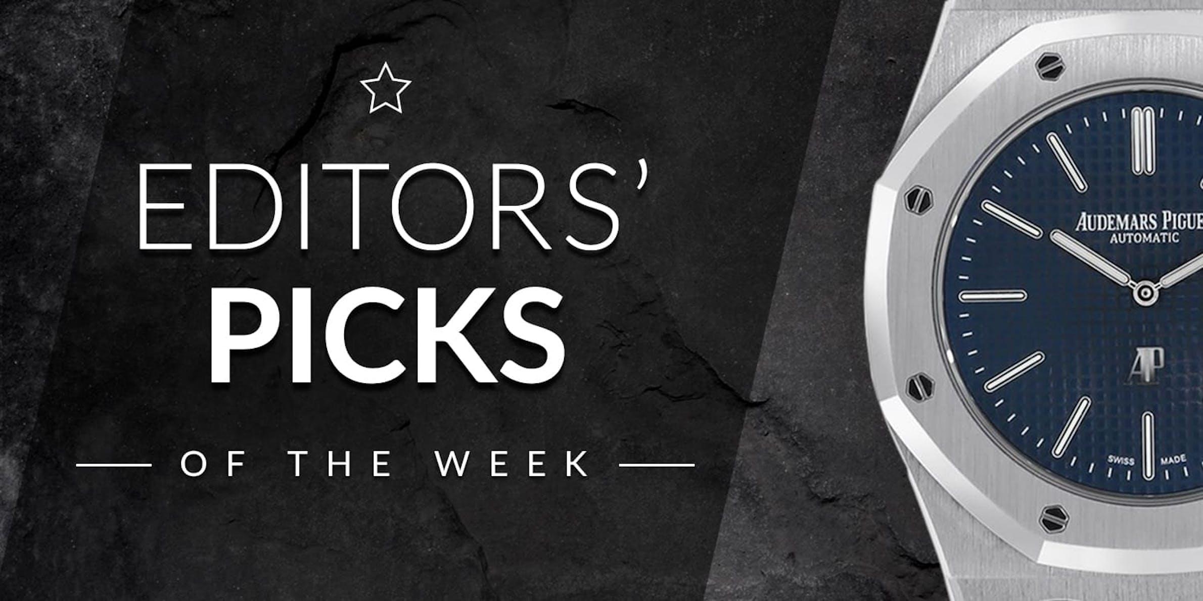 Editors' Picks of the Week: IWC, Audemars Piguet, and Omega
