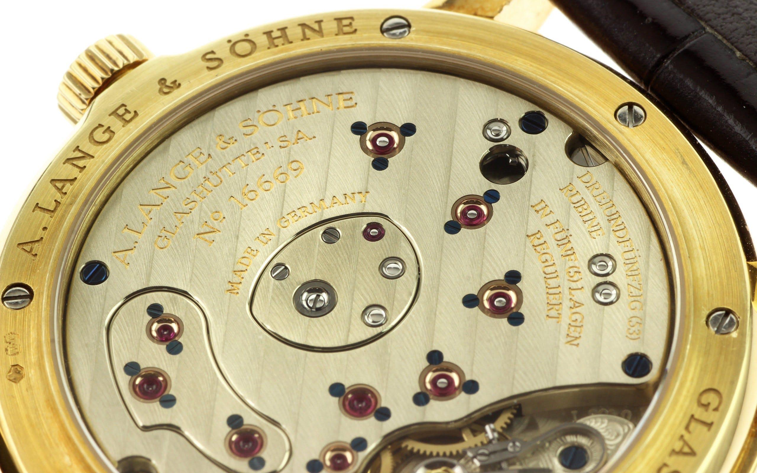 The A. Lange & Söhne caliber L901.0