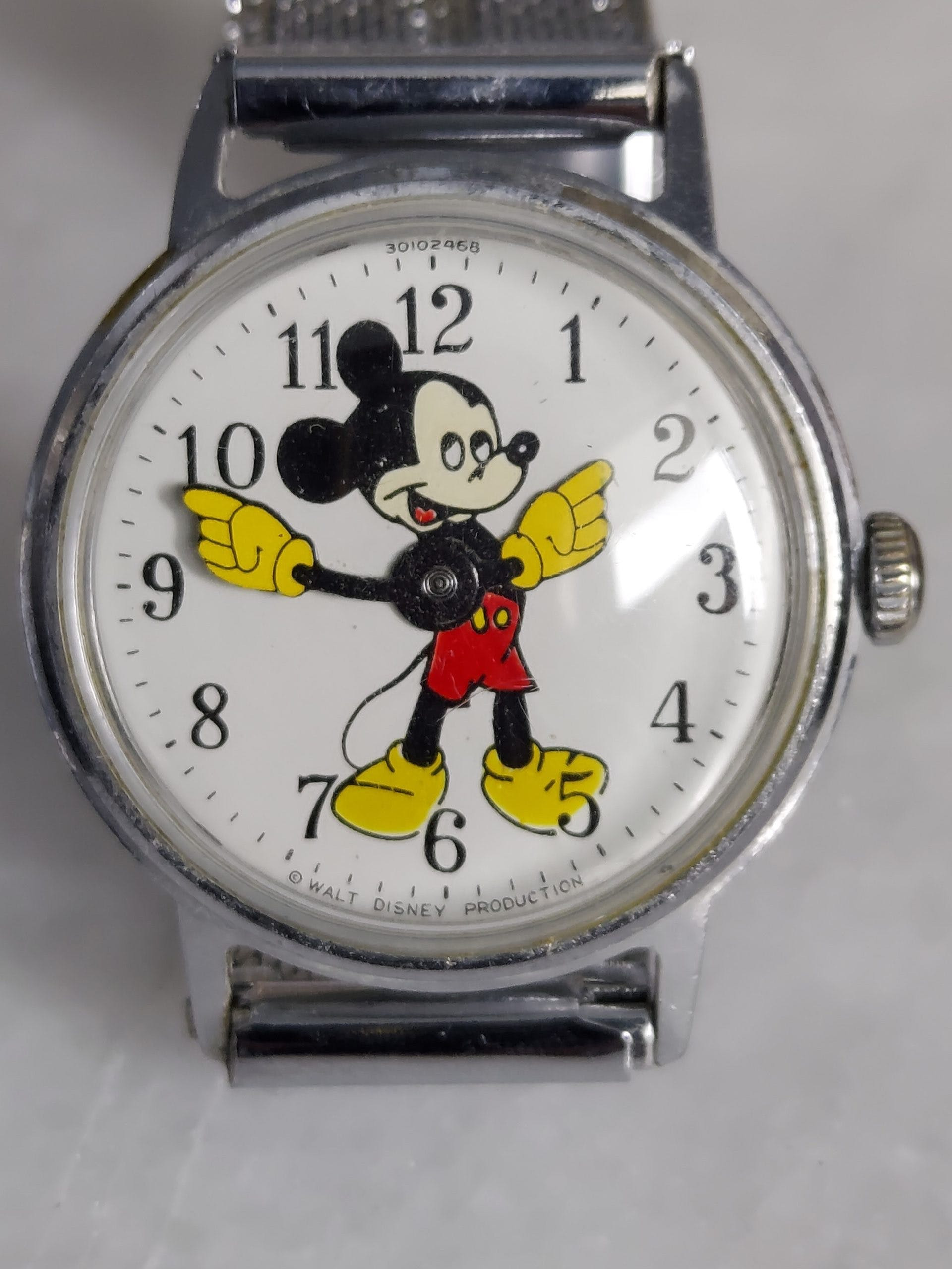Timex Mickey Mouse watch, around 1970