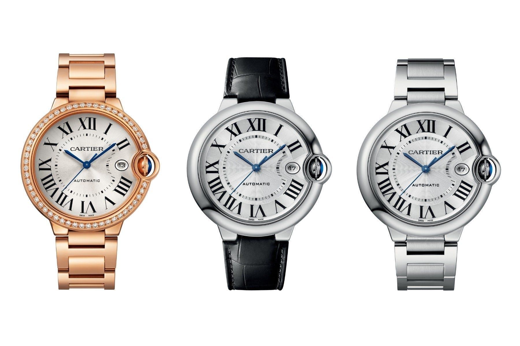Cartier has released an all-new Ballon Bleu.