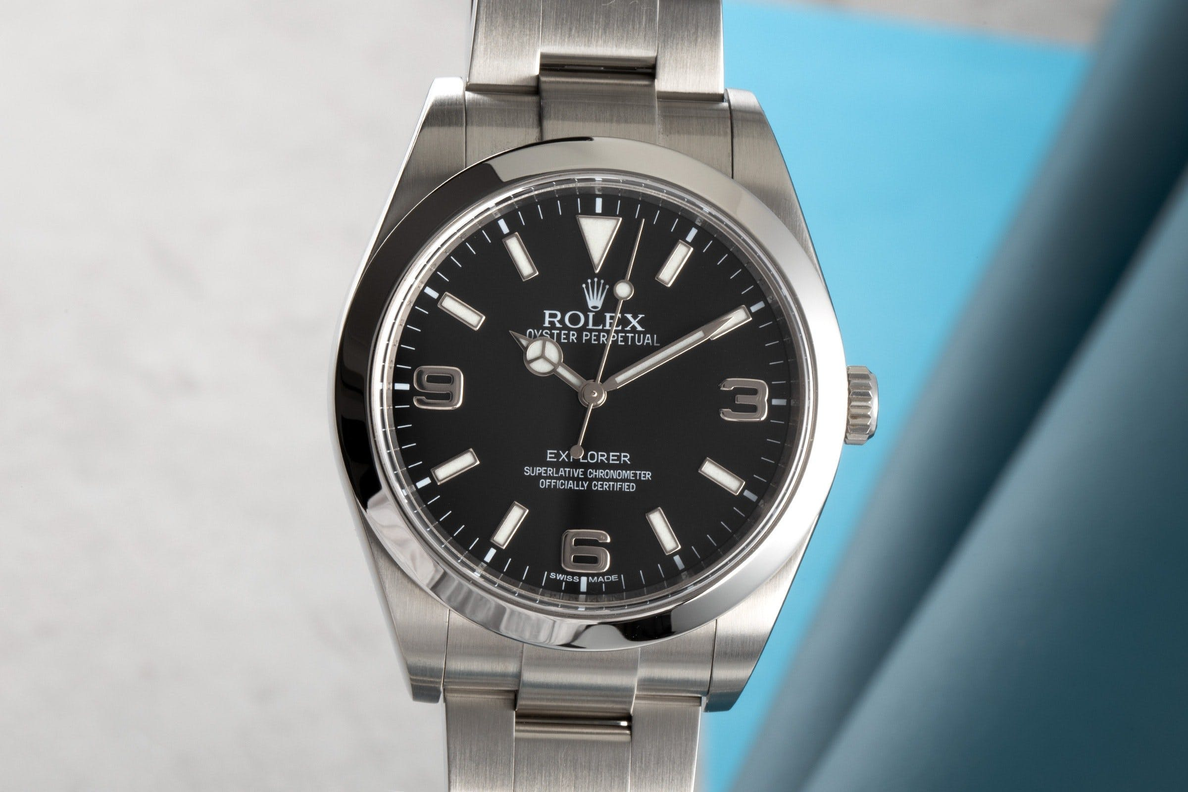 The Rolex Explorer is the perfect entry-level sports watch.