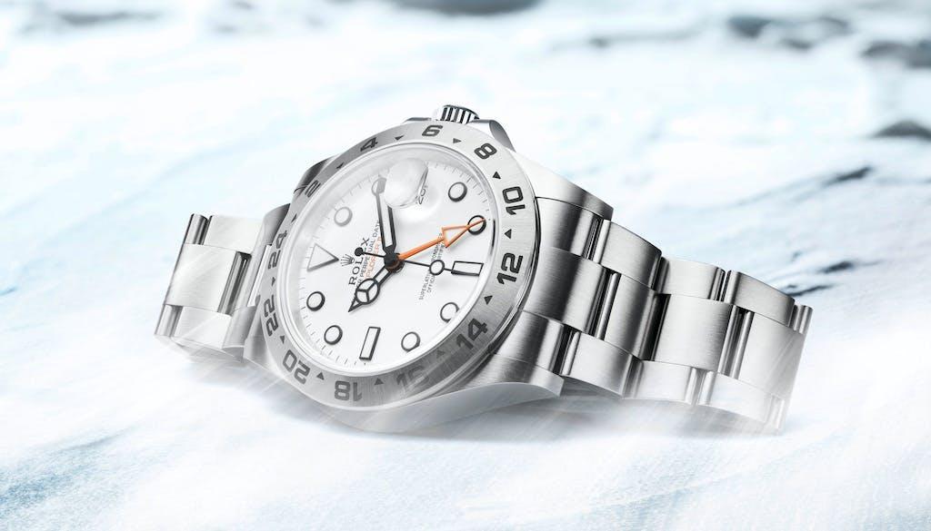 Rolex waited 50 years to create the Explorer II.