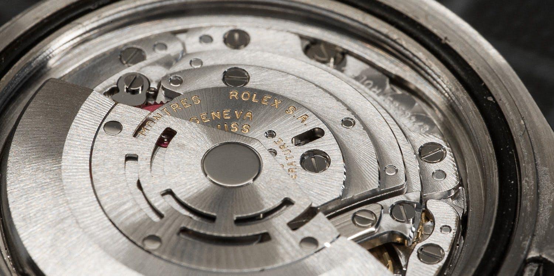 Rolex guarantees quality and precision.