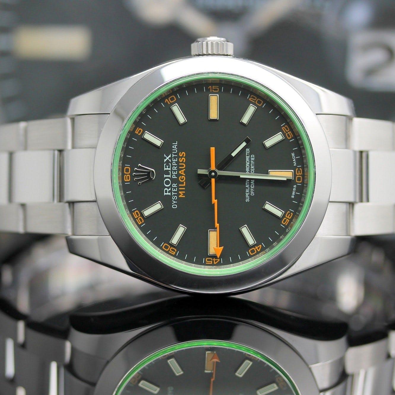 Rolex Milgauss réf. 116400GV