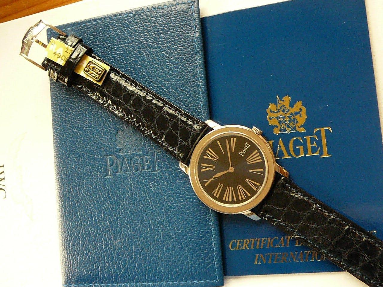 Da decenni Piaget è una marca leader degli orologi ultrasottili.