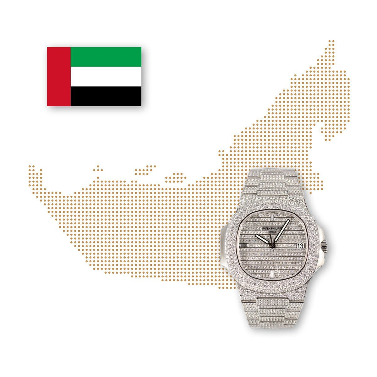 In the UAE, Rolex is closely followed by the luxury brands Audemars Piguet and Patek Philippe.